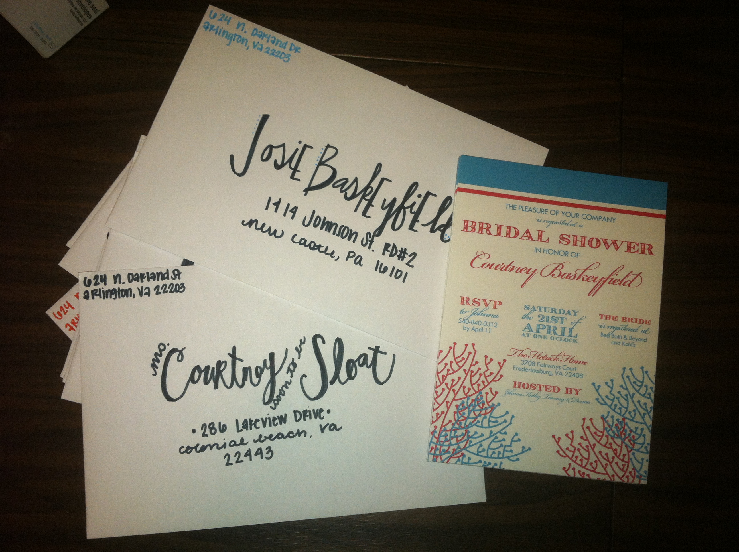 Bridal Shower Invitations Twila Co – How to Address Wedding Shower Invitations